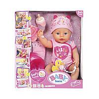 Кукла Zapf Baby Born Очаровательная Малышка с аксессуарами 43 см 822005, КОД: 2430679