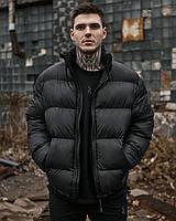 Зимова чоловіча куртка Пушка Огонь Homie чорна