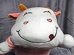 Плед - мягкая игрушка 3 в 1  Коровка розовая (86), фото 4