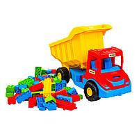 Грузовик с конструктором Wader Multi truck Разноцветный 39221, КОД: 2431421