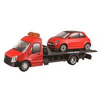 Игровой набор Bburago Автоперевозчик с автомоделью Fiat 18-31402, КОД: 2431101