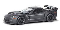 Автомодель Uni-Fortune Chevrolet Corvette C6R черная матовая серия 554003М, КОД: 2431653