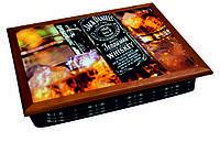 Поднос на подушке BST 040400 4436 коричневый Виски 040400, КОД: 1404340