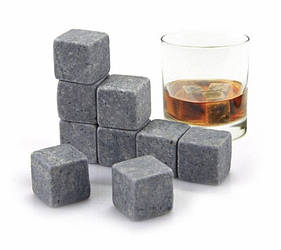 Камни для охлаждения виски Whisky Stones mini 9 шт 300475, КОД: 1717290