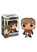 Фигурка Funko POP GOT - Tyrion Lannister in Battle Armor Vinyl Figure 21 10 см 3779, КОД: 1895289