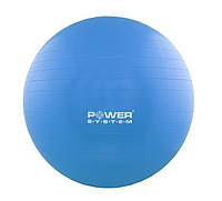 Мяч для фитнеса и гимнастики Power system PS-4011 55 cm Blue, КОД: 1293305