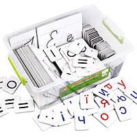 Дидактический набор Vladi Toys для обучения грамоте и письму на украинском VT5555-01, КОД: 2441884