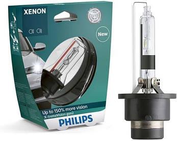 Ксеноновая лампа Philips X-treme Vision D2R 4300K +150% (P23319), фото 2