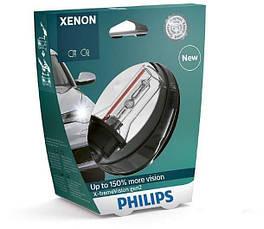 Ксеноновая лампа Philips X-treme Vision D2R 4300K +150% (P23319), фото 3