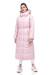 Зимняя женская куртка ORIGA Клер 46 сиренево-розовый, КОД: 2365947