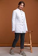 Демисезонная женская куртка ORIGA Эльза, 48 Белый 02LZ-белый48, КОД: 2365123