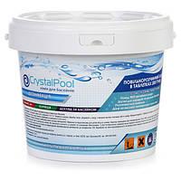 Медленный хлор Crystal Pool Slow Chlorine Tablets Large 5 кг ps0101041v, КОД: 1618046