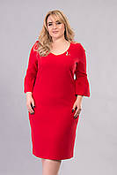 Платье Tasa 1177 52 Красное, КОД: 722626