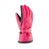 Рукавиці гірськолижні жіночі Viking Crystal 6 XS Рожевий 46, КОД: 2417168