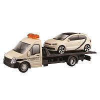 Игровой набор Bburago Автоперевозчик с автомоделью VW Polo GTI Mark 5 18-31403, КОД: 2431103