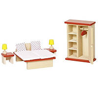 Набор для кукол Goki Мебель для спальни 51715G, КОД: 2426946