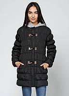 Женская зимняя куртка Silvian Heach M Черная 7170516-M, КОД: 1452473