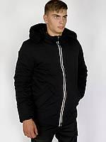 Демисезонная куртка Intruder Spart L Черный 1589543804 2, КОД: 2389710