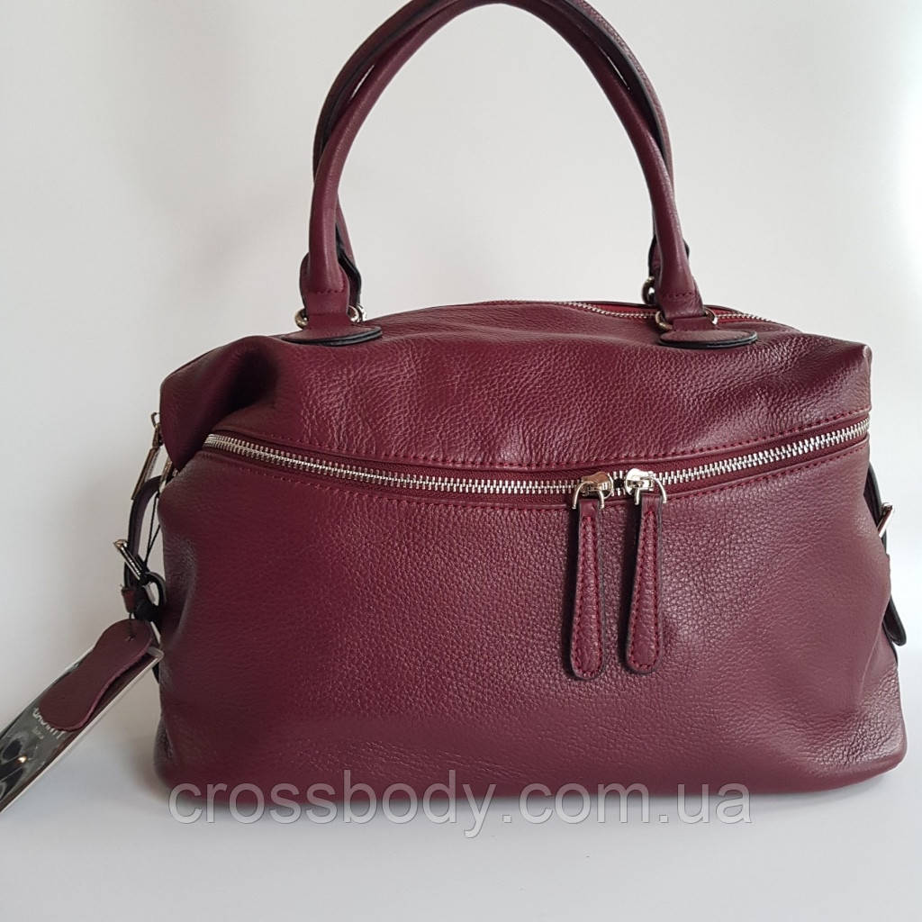 Женская кожаная сумка торба натуральная кожа
