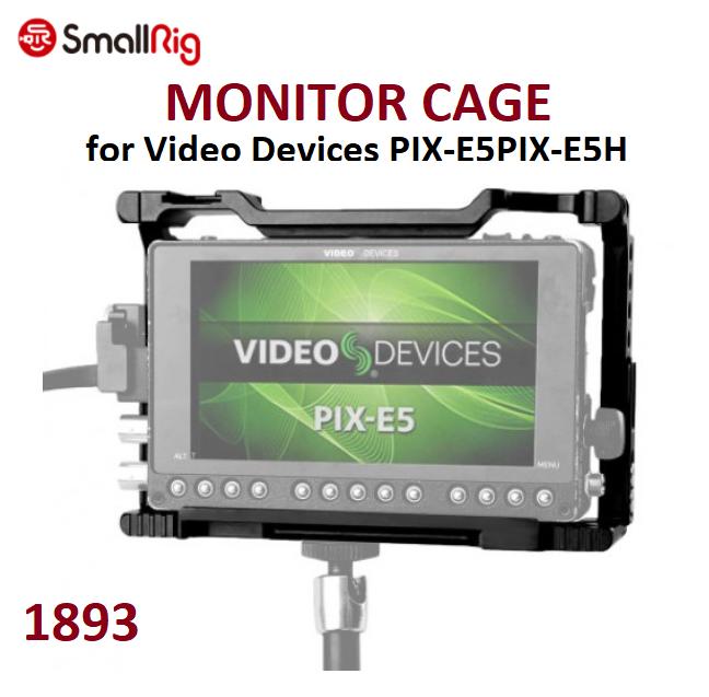 Кейдж SmallRig Monitor Cage for Video Devices PIX-E5PIX-E5H Monitor (1893)
