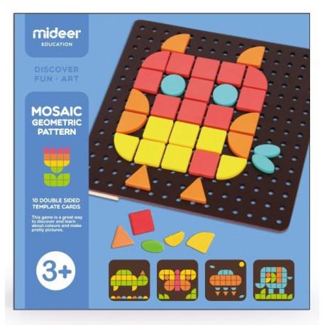 "Мозаїка з картками ""Геометрична фантазія"" MiDeer Toys"