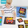 """Мозаїка з картками """"Геометрична фантазія"""" MiDeer Toys, фото 5"""