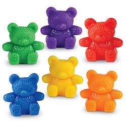 "Набор фигурок для сортировки ""Медвежата"" (6 шт) Learning Resources"