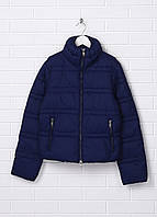 Женская демисезонная куртка Silvian Heach L Темно-синяя 6062684-L, КОД: 1464753