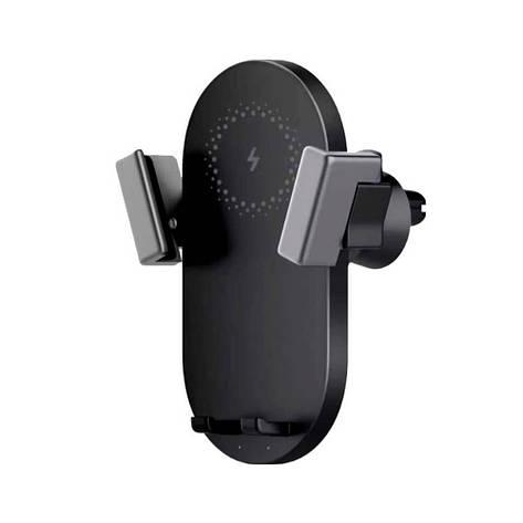 Автодержатель+ беспроводная зарядка ZMi Car Wireless Charger Black 20W (WCJ10), фото 2