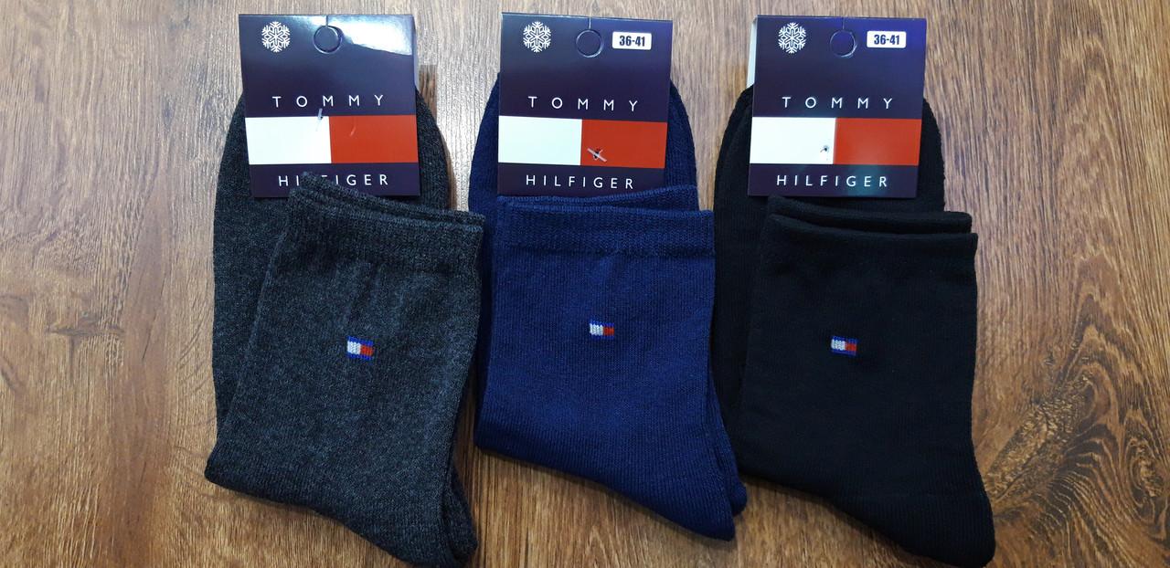 """Шкарпетки жіночі (підліткові) з махрової стопою, в стилі """"Tommy A"""" Туреччина 36-41 Високі"""