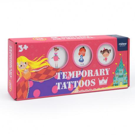 """Дитячі тимчасові татуювання """"Казковий сад"""" MiDeer Toys"""