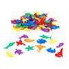 """Набор фигурок для сортировки """"Морские животные"""" (84 шт) EDX Education, фото 2"""