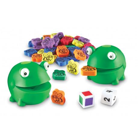 """Математическая настольная игра """"Голодная лягушка"""" Learning Resources"""
