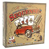 Настольная игра Strateg на украинском Sequence 30361, КОД: