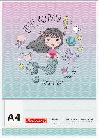 Альбом для рисоования А4 Brunnen 70 г м2, 100 листов обложка русалка 1047407642, КОД: 1931339