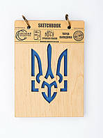 Скетчбук Drevych Тризуб А6 40 листов 0166136, КОД: 2447927