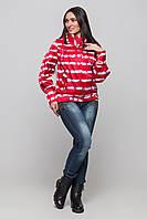 Демисезонная женская куртка ORIGA Модница 46 Красный, КОД: 1396311