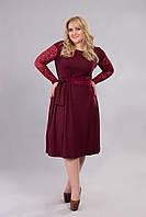 Платье Tasa 1183 54 Марсала, КОД: 722702