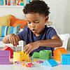 """Игровой набор «Цветные домики» с фигурками """"Семья"""" для сортировки Learning Resources, фото 5"""