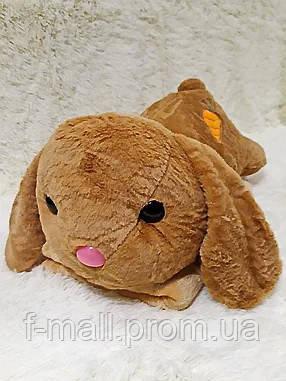 Плед - мягкая игрушка 3 в 1  Заяц рыжий (92)