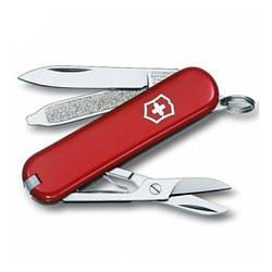 Швейцарский нож Victorinox Classic SD Красный 0.6223, КОД: 111150