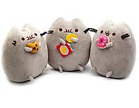 Комплект Мягких игрушек коты Pusheen cat из трех штук n-755, КОД: 2368939