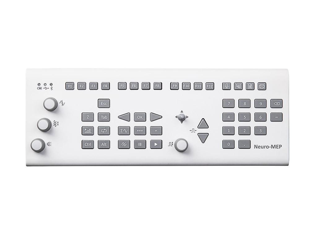 Клавиатура функциональная КФ-02 в комплекте с кабелем и адаптером