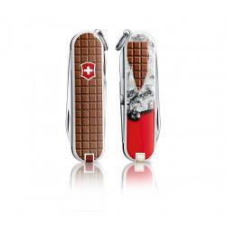 Нож Victorinox Classic Chocolate 58 мм 7 функций С рисунком 0.6223.842, КОД: 1270348