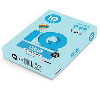 Бумага А4 IQ Color MB30 (голубой), 500 л.