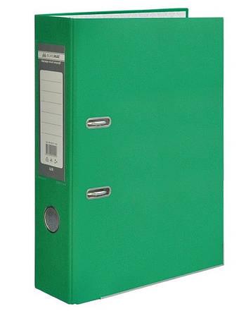 Папка регистратор LUX односторонняя JOBMAX A4, 70 мм, зеленый BM3011-04C