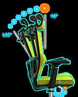 Эргономичное кресло KULIK SYSTEM SPACE Оливковое 1901, КОД: 1335549
