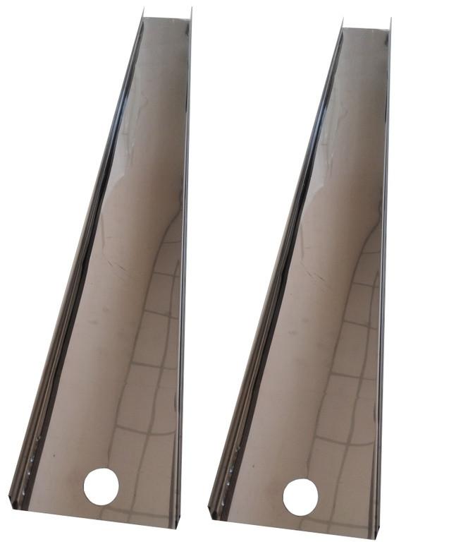 Профиль система для охлаждающих панелей на 0,6 метров. Боковые части на 1800 мм.