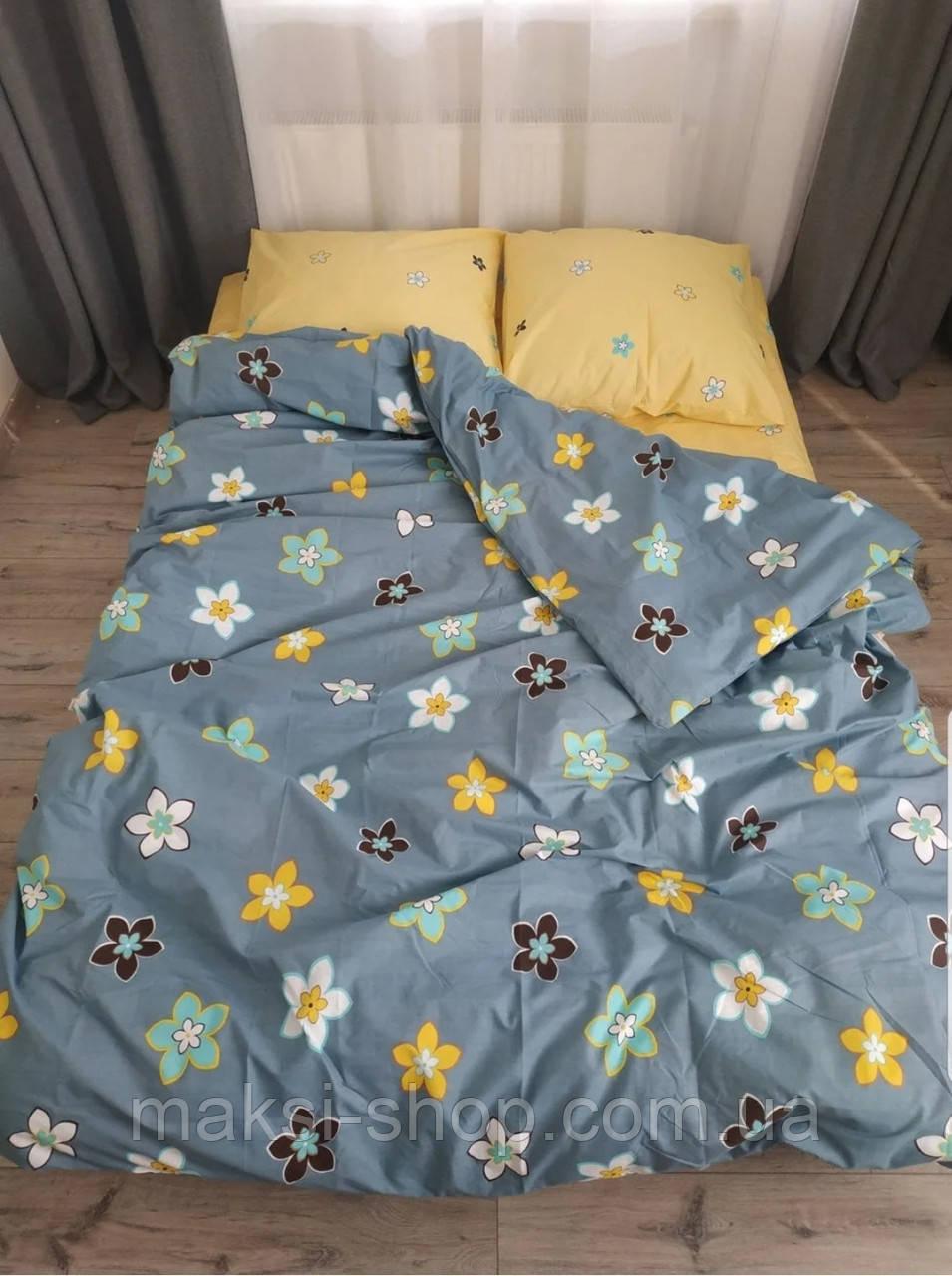 Комплект двухспального постельного белья Бязь Gold