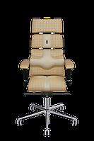 Эргономичное кресло KULIK SYSTEM PYRAMID Бежевое с песочным 901, КОД: 1335618